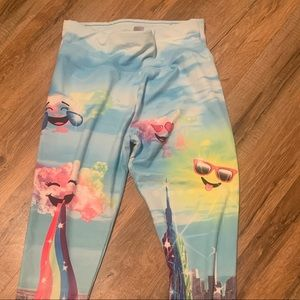 Justice leggings size 14